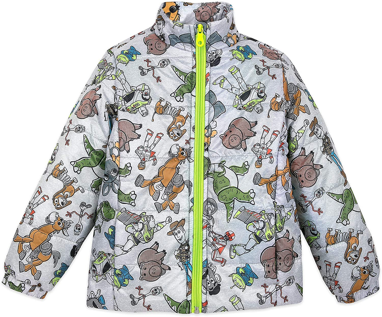 Disney Toy Story 4 贈呈 Lightweight Puffy Multi 年末年始大決算 for Kids Jacket