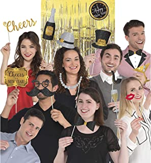 New Year's Deluxe Photo Props Party Kit