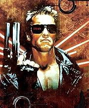 THE TERMINATOR Movie Poster Art Sci Fi Horror Schwarzenegger (1984) 24