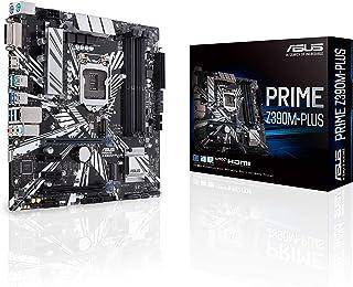 ASUS Prime Z390M-PLUS - Placa base mATX Intel de 8a y 9a gen. LGA1151 con con OptiMem II, DDR4 4266 MHz, Dos M.2, Intel Optane Memory, SATA 6 Gb/s y USB 3.1 Gen. 2