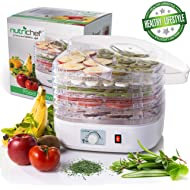 NutriChef Food Dehydrator... NutriChef Food Dehydrator Machine - Professional Electric Multi-Tier Food Preserver, Meat or Beef...