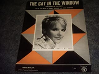 THE CAT in the Window Sheet Music