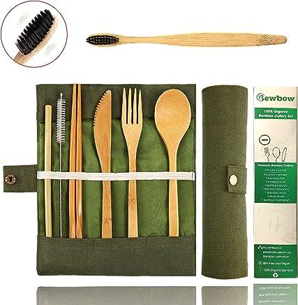 Amazon com: Wood - Flatware Sets / Flatware: Home & Kitchen