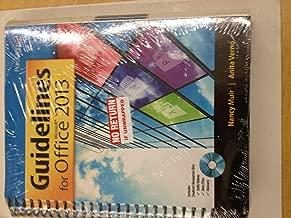 Print Package: Guidelines Office 2013 (w/Digital & SNAP (MCC CIS 105)