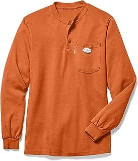 Rasco NTF453 Men's FR Henley Long Sleeve Shirt