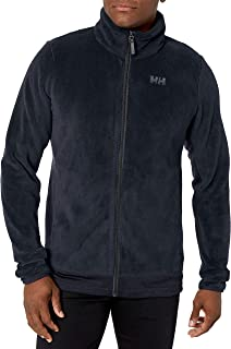 Helly Hansen Men's Feather Lightweight Full Zip 2-Sided Pile Fleece Jacket, 597 Navy, Large