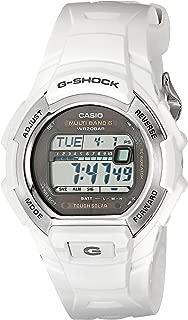 Men's G-Shock GWM850-7CR Tough Solar Atomic White Resin Sport Watch