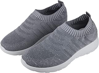 842ab0d48 Irsoe Cassiey Women's Tread Walk Comfortable and Lightweight Running Shoes