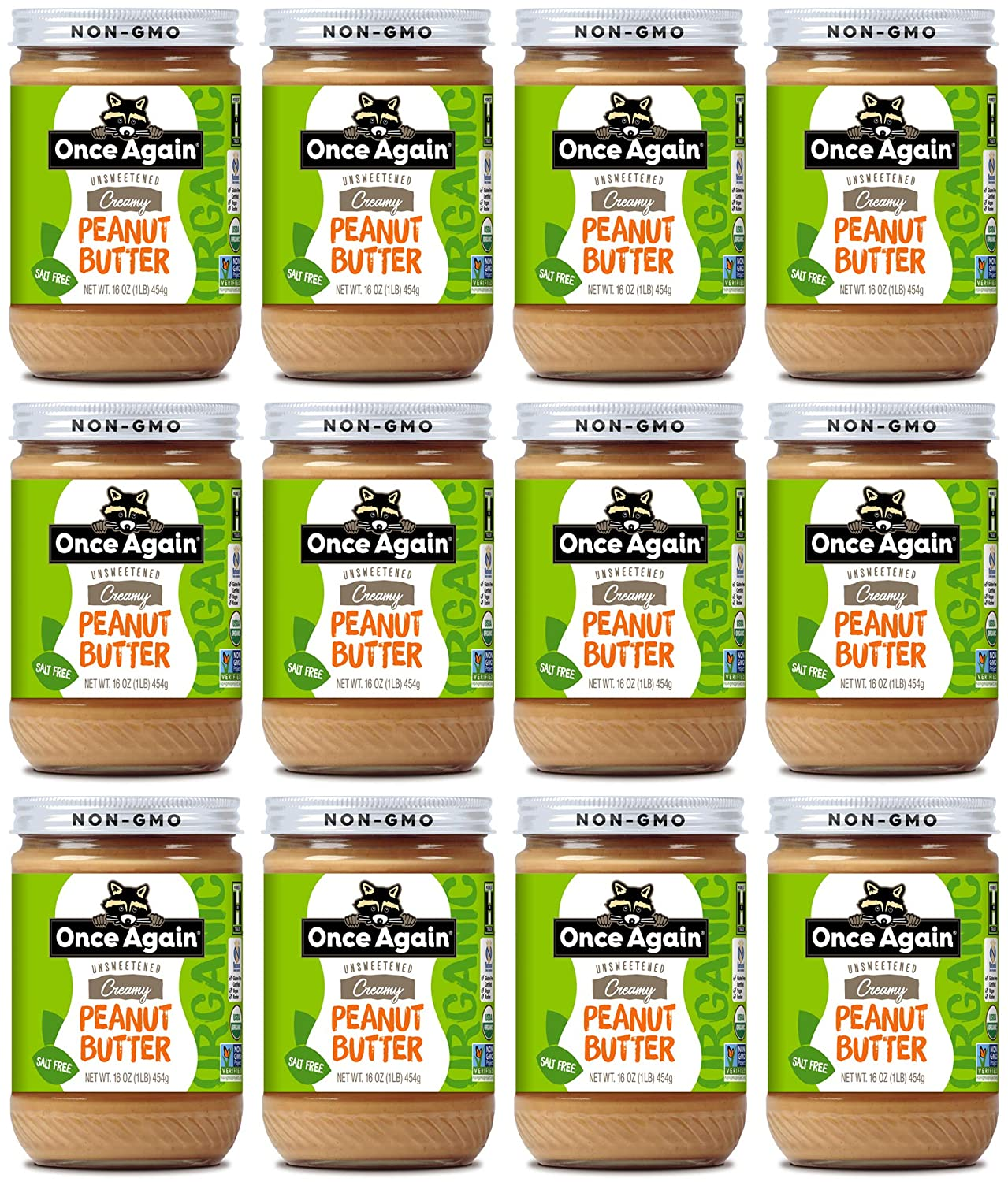 Once Again Organic Creamy Peanut - Unsweetene Free Discount Mail order is also underway Butter Salt