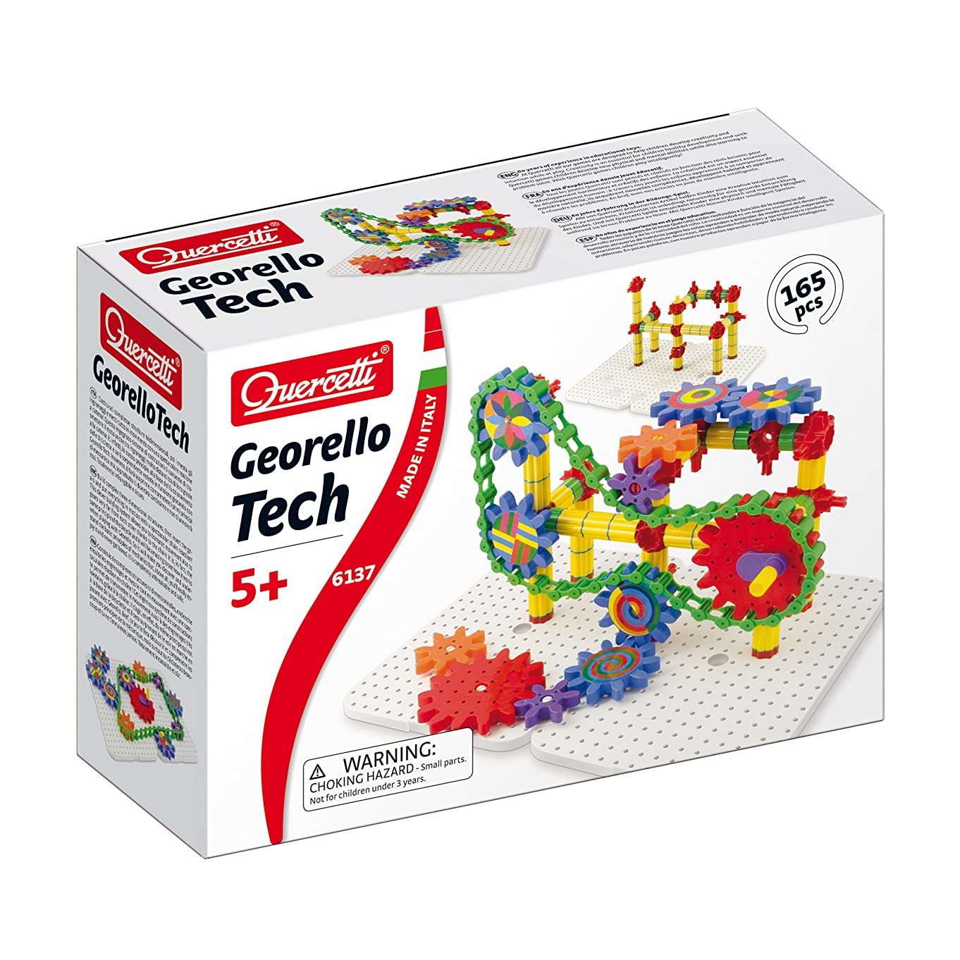 Quercetti Georello Tech Three-Dimensional Structure (165 Piece)