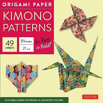 Origami Paper Kimono Patterns Large