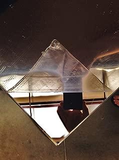 SIBE-R PLASTIC SUPPLY Mirror Acrylic Plexiglass Sheet 1/8
