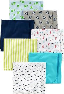 Simple Joys by Carter's 7-pack Flannel Receiving Blankets nursery-receiving-blankets Unisex - Bimbi 0-24 (Pacco da 7)