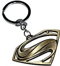DC Comics Movie Superman Symbol Clark Kent Alloy Steel Metal Keychain Key Chain
