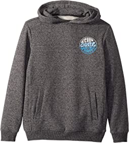 Destination Print Fleece Hoodie (Big Kids)