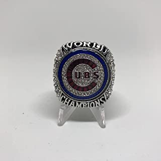 2016 Kris Bryant Chicago Cubs High Quality Replica 2016 World Series Championship Ring Size 13-Silver Color US SHIPPING