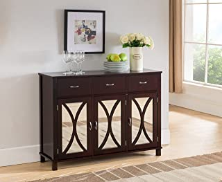 Best kings brand furniture buffet server cabinet Reviews