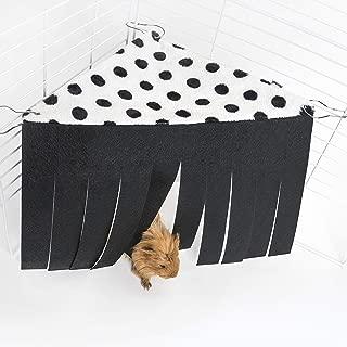 Niteangel Corner Fleece Forest Hidey Curtain Hideouts for Rabbit, Chinchillas, Hedgehogs, Guinea Pigs, Hamster - Accessories & Toys