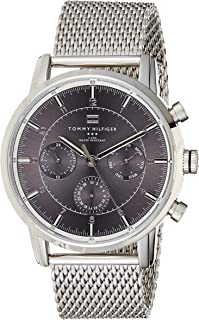 Tommy Hilfiger Mens Quartz Watch, Chronograph Display and Stainless Steel Strap 1790877