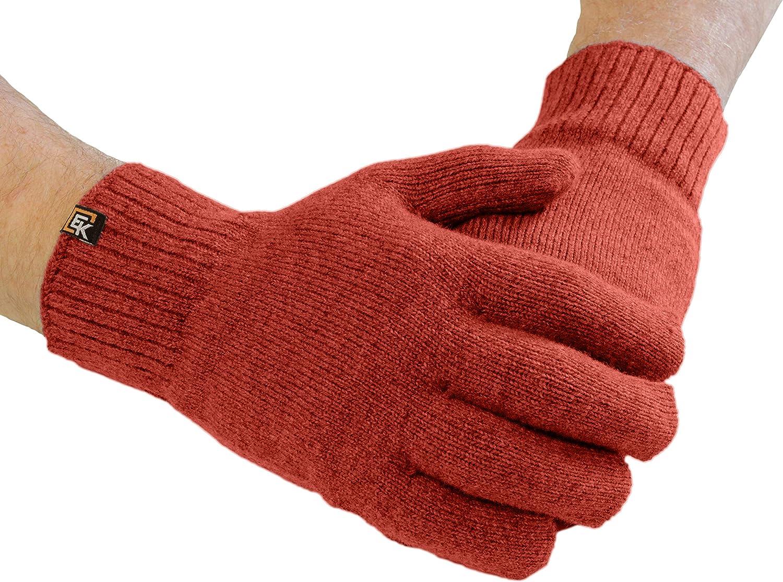 Knit Gloves, Superfine Baby Alpaca, Men's