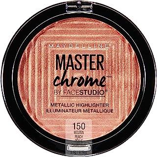 Maybelline New York Facestudio Master Chrome Metallic Highlighter Makeup, Molten Peach, 0.19 Ounce