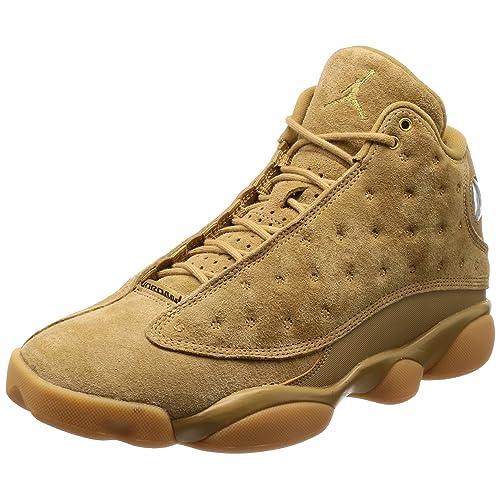 18a38d68a46 NIKE Mens - Air Jordan 13 Retro  Rare  Wheat - Elemental Gold Brown -