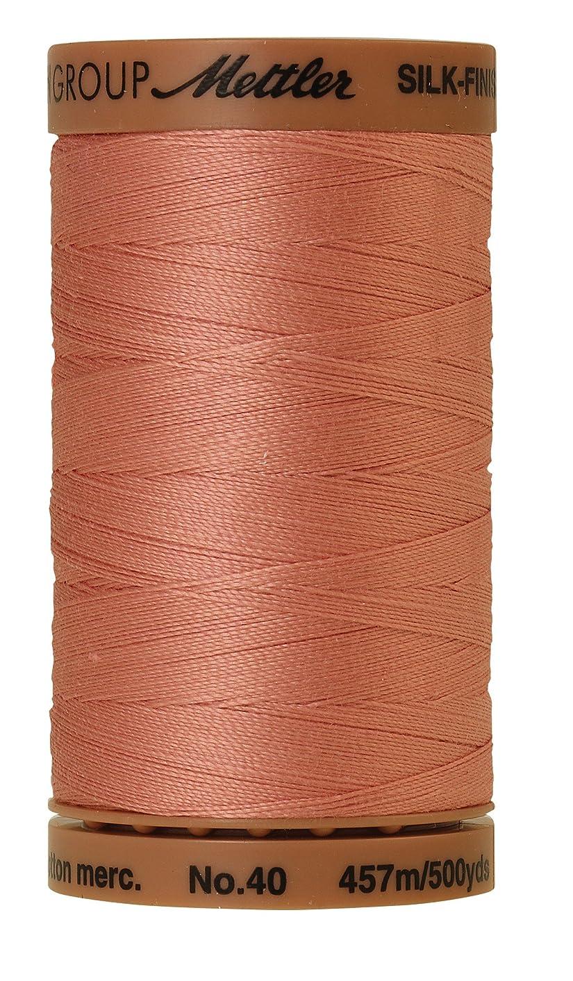 Mettler Silk-Finish Solid Cotton Thread, 500 yd/475m, Antique Pink