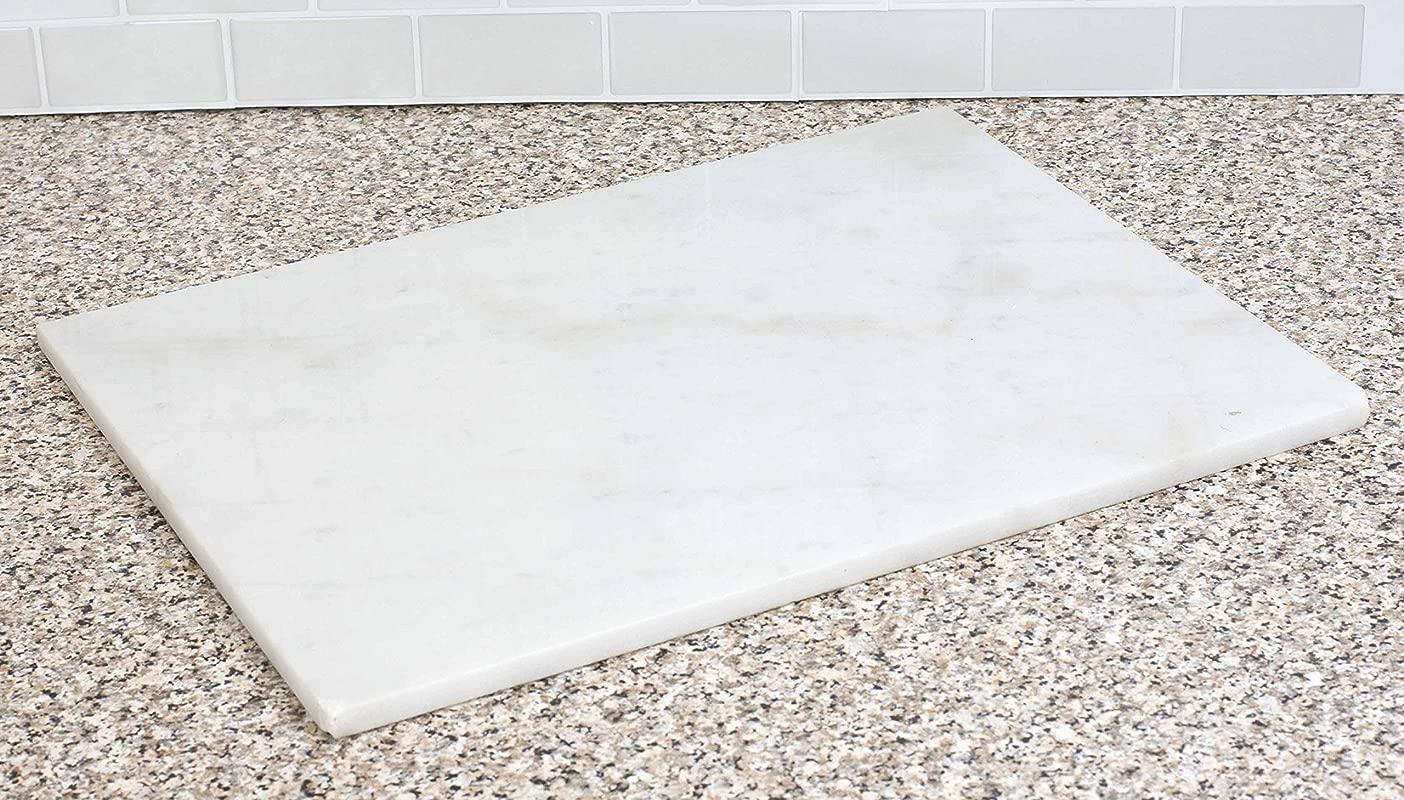 Home Basics CB45249 12 X 16 Marble White Cutting Board One Size