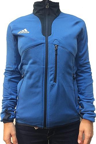 Adidas Veste Fleece JKT W Bleu T40