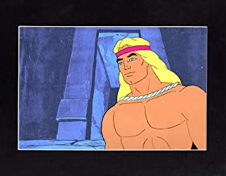 Space Sentinels 1977 Young Hercules Original Animation Cel Filmation b2