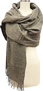 Vera Womens Oversized Mareld Scarf Cashmere Feel Made In Italy