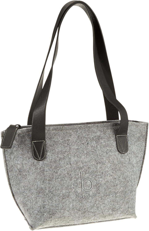 Bugatti Bags Messenger Bag Pureness Shopper, grau, 36 X 23 X 14 cm, 18 liters, 49471149 B00AB28U0O