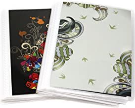 4 x 6 Photo Albums Pack of 2, Each Mini Photo Album Holds Up to 60 4x6 Photos. Flexible, Removable Covers Come in Random, Assorted Patterns and Colors.