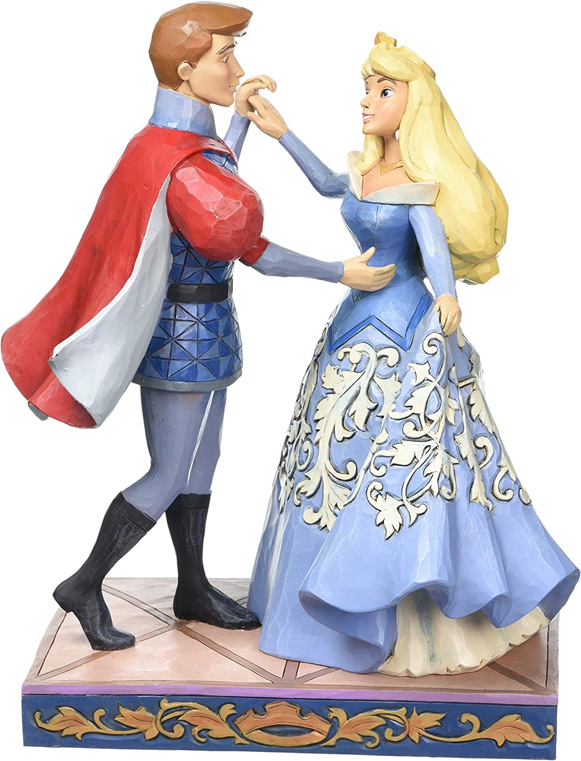 Jim Shore Disney Traditions by Genuine Enesco D Prince Philip and High material Aurora