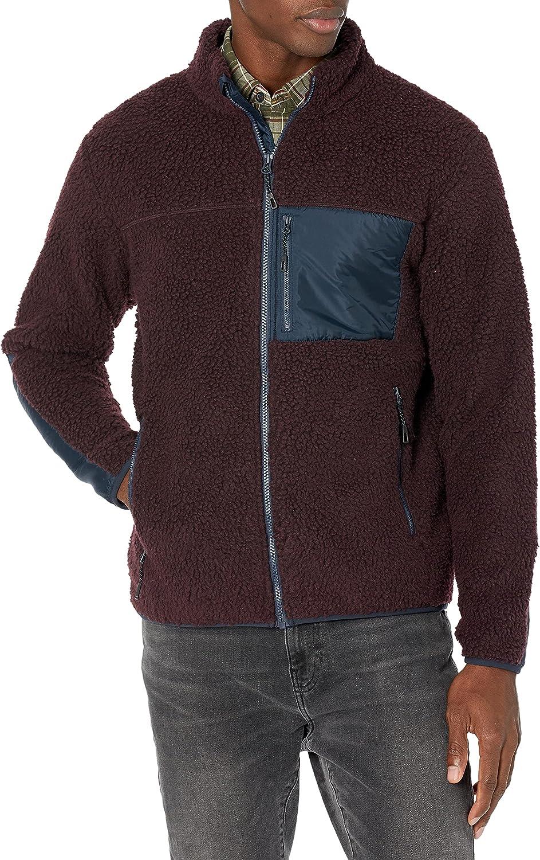 Goodthreads Men's Sherpa Fleece Fullzip Jacket