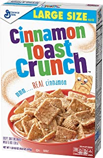Cinnamon Toast Crunch Breakfast Cereal, Large Size, 16.8 Oz
