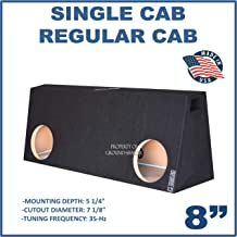 Fits Regular Cab/Single cab's/Standard cab's 8