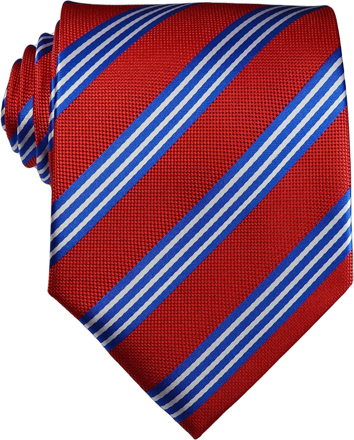Dealing full price reduction Mr.ZHANG New Limited Special Price Classic Striped JACQUARD Neckt Tie Silk WOVEN Men's