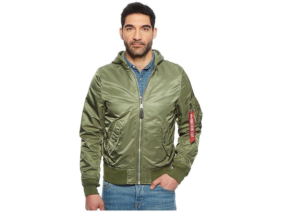 Image of Alpha Industries L-2B Natus (Sage) Men's Coat
