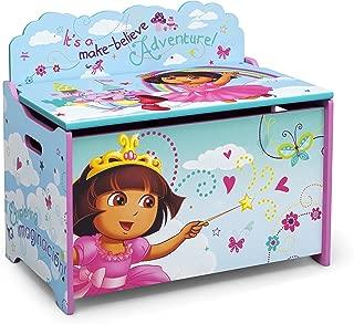 Delta Children Deluxe Toy Box, Nick Jr. Dora the Explorer