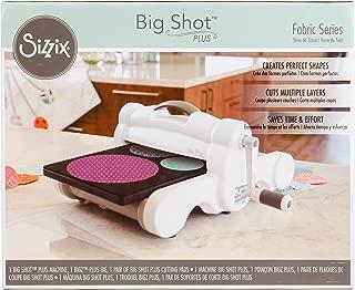 Sizzix Big Shot Plus Fabric Series Starter Kit (White & Gray)