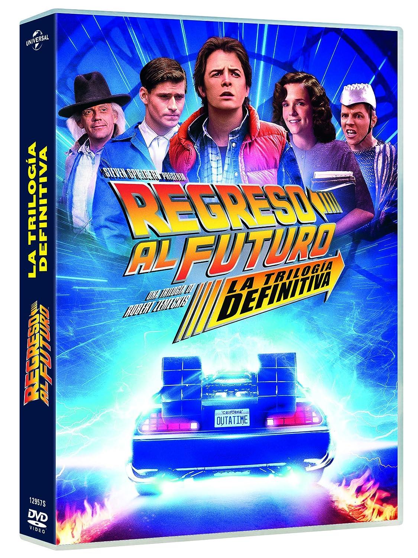 Regreso al Futuro 1-3 - Edicion 35 Aniversario (4 Discos) [DVD]