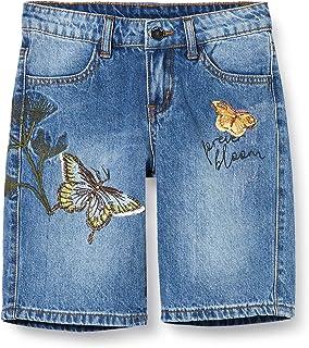 MEK Shorts Jeans Stretch con Appl Bambina