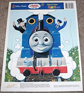 Golden Book Thomas the Tank Engine & Friends Frame Tray Puzzle - With Sir Topham Hat
