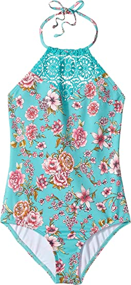 Billabong Kids - Blooming Beauty One-Piece (Little Kids/Big Kids)