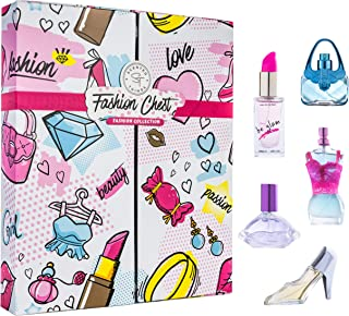 FASHION CHEST Body Mist Perfume Fragrance for Girls - Perfect Gift Set for Little Girls, Tweens, Pre-Teens & Teenage Girls - Fashion Collection - 5 Variety Pack