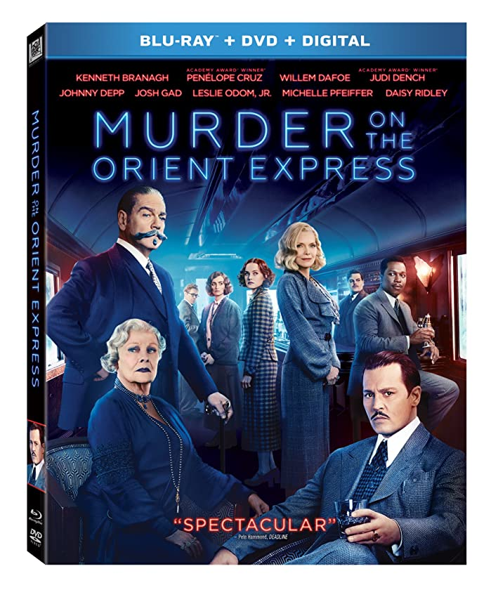 文献キャッシュ縞模様のMurder on the Orient Express [Blu-ray]