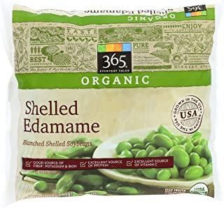 365 Everyday Value, Organic Shelled Edamame, Blanched Shelled Soybeans, 12 oz, (Frozen)