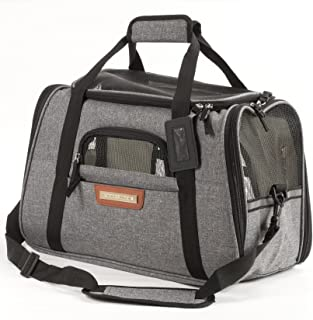 Pawfect Pets Airline Approved Pet Carrier Soft-Sided Cat Carrier and Dog Carrier for..
