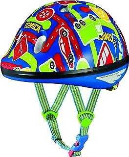 オージーケーカブト(OGK KABUTO) 自転車 ヘルメット 子ども用 PEACH KIDS (ピーチキッズ) トミカ2 幼児用(頭囲 47~51cm)